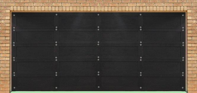 Garage door2 for Double garage cost