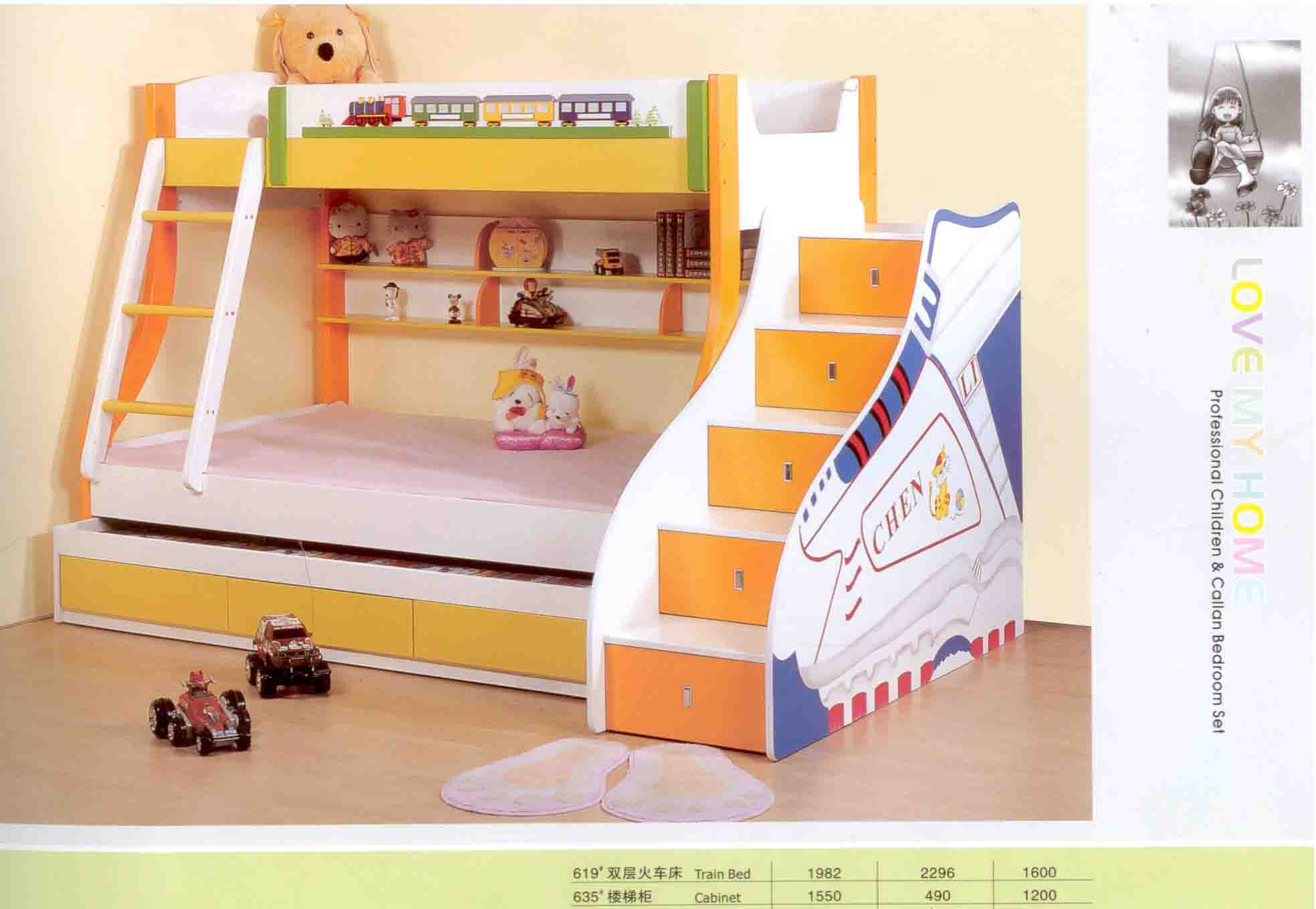 Children 39 s furniture macalinne for Toddler bunk beds